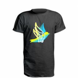 Подовжена футболка Україна Ластівка