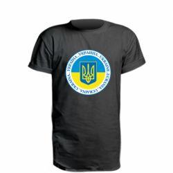 Подовжена футболка Україна. Украина. Ukraine.