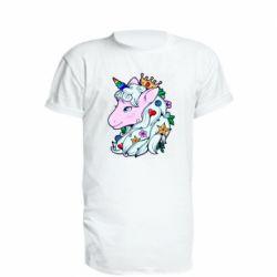 Подовжена футболка Unicorn Princess