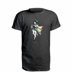 Подовжена футболка Venti Genshin Impact