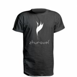 Подовжена футболка Zhuravel