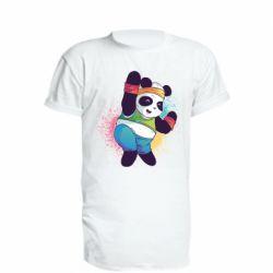 Подовжена футболка Zumba Panda