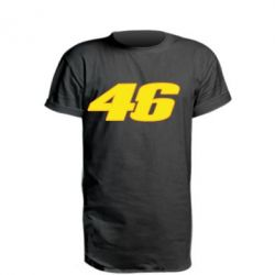 Подовжена футболка 46 Valentino Rossi