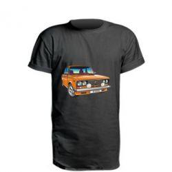 Удлиненная футболка A car