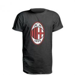Подовжена футболка AC Milan