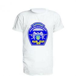 Удлиненная футболка Аеромобільні десантні війська