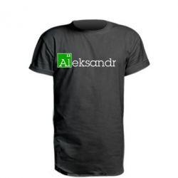 Удлиненная футболка Alexandr - FatLine