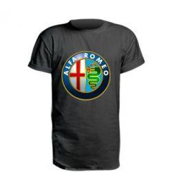 Удлиненная футболка ALFA ROMEO