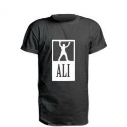 Удлиненная футболка Ali - FatLine