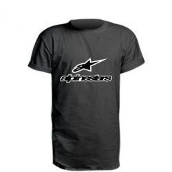 Подовжена футболка Alpinestar Logo