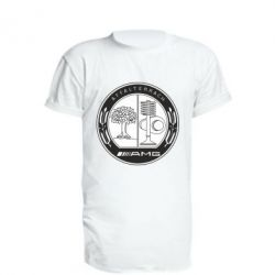 Подовжена футболка AMG