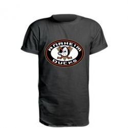 Удлиненная футболка Anaheim Ducks Logo - FatLine