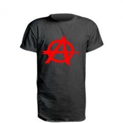 Удлиненная футболка Anarchy