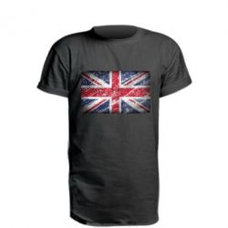 Удлиненная футболка Англия, FatLine  - купить со скидкой