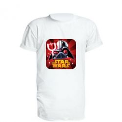 Подовжена футболка Angry Birds Star Wars Logo - FatLine
