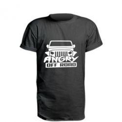 Подовжена футболка Angry Off Road