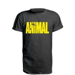 Удлиненная футболка Animal Logo