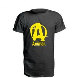 Удлиненная футболка Animal