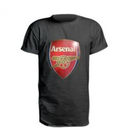Подовжена футболка Arsenal 3D