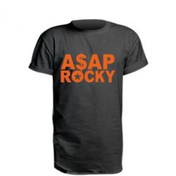 Подовжена футболка ASAP ROCKY
