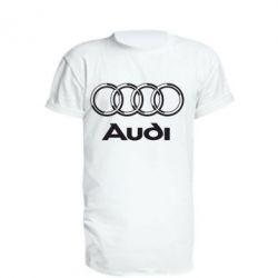 Удлиненная футболка Audi Big