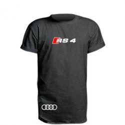 Удлиненная футболка Audi RS4
