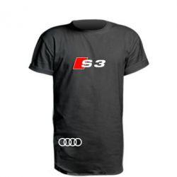 Удлиненная футболка Audi S3