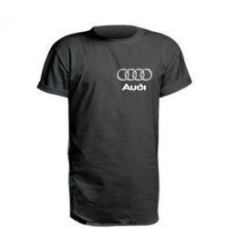 Удлиненная футболка Audi Small