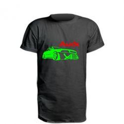 Подовжена футболка Audi Turbo