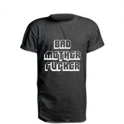Удлиненная футболка Bad Mother F*cker