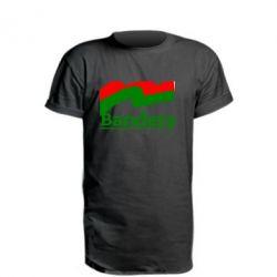Удлиненная футболка Bandera - FatLine