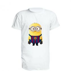 Удлиненная футболка Barca