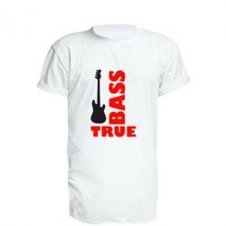 Подовжена футболка Бас-True