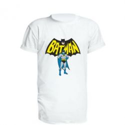 Удлиненная футболка Batman Hero