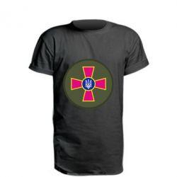 Удлиненная футболка Безпека Військової Служби