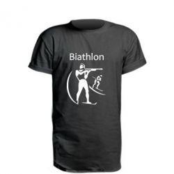 Удлиненная футболка Biathlon