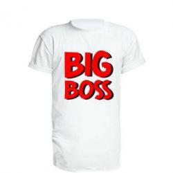 Удлиненная футболка Big Boss