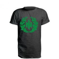 Удлиненная футболка Бій під Крутами - FatLine