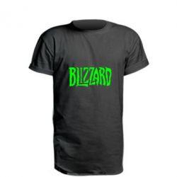 Подовжена футболка Blizzard Logo