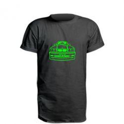 Удлиненная футболка BMW E34