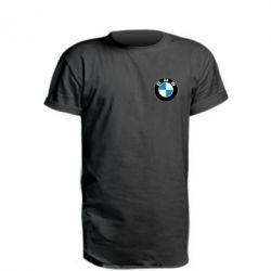 Удлиненная футболка BMW Small