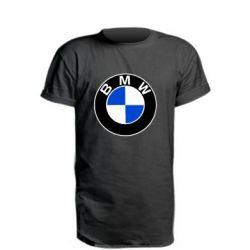 Удлиненная футболка BMW