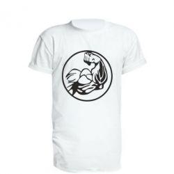 Удлиненная футболка Бодибилдинг