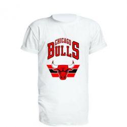 Подовжена футболка Великий логотип Chicago Bulls