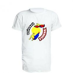Удлиненная футболка Бойовий гопак