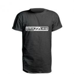 Удлиненная футболка Brazzers Logo