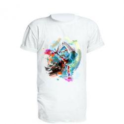 Удлиненная футболка Брэйк Арт