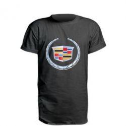 Подовжена футболка Cadillac