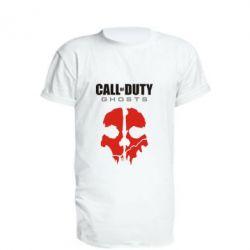 Удлиненная футболка Call of Duty Ghosts - FatLine