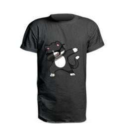 Подовжена футболка Cat SWAG